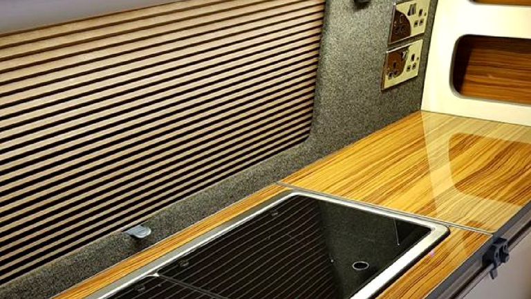 Campervan window blinds fitted from