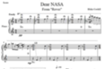 Dear NASA from Rover sheet music