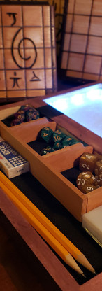 Handmade LED Dice Tray