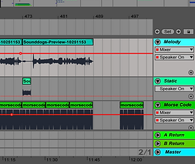 Screenshot of ableton