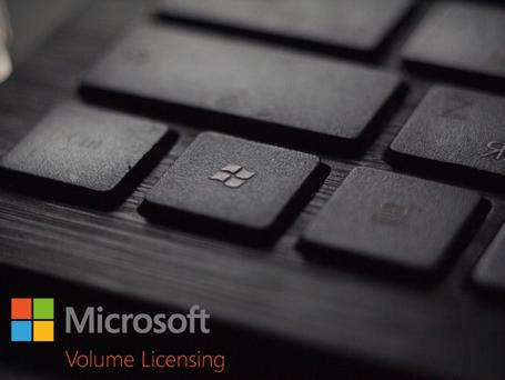 O que é licenciamento por volume da Microsoft?