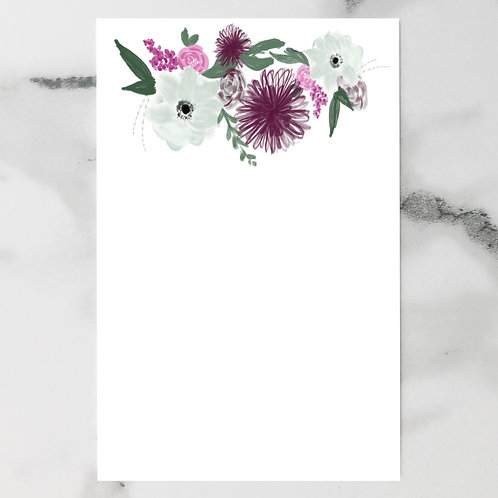 Colorful Floral Vertical