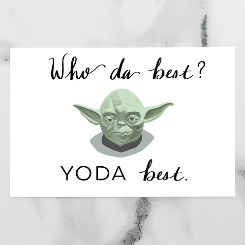 Yoda Best Father's Day