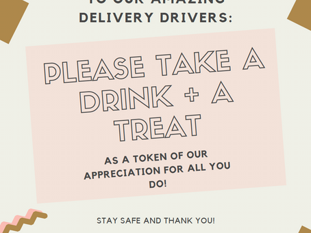 FREE DOWNLOAD-Thank You to Our Delivery Workers