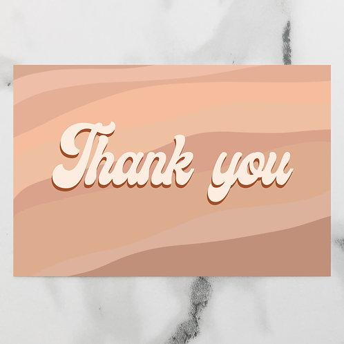 Retro Thank You