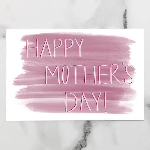 Mother's Day Watercolor