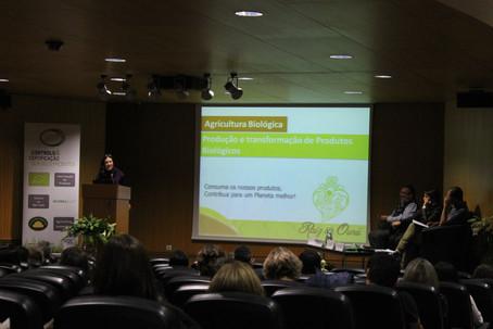 Raiz de Ouro participou nas II Jornadas Técnicas de Agricultura Biológica