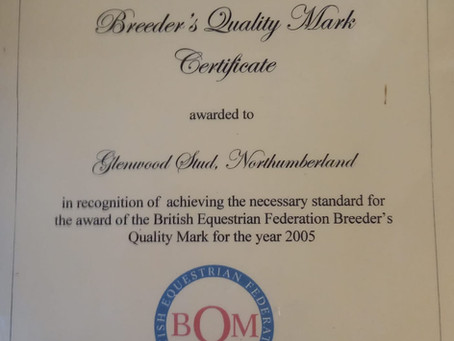 Breeders Quality Mark for Excellence