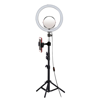 Aro de Luz Con Espejo 33cm