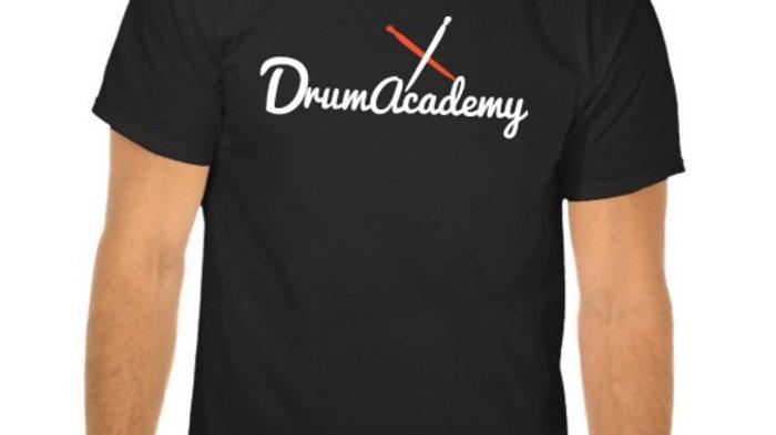 T-shirt Drum Academy Noir