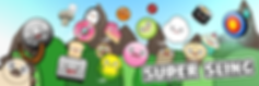 A banner of the characters in Super Sling