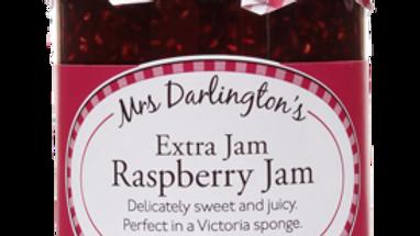 Mrs Darlingtons Extra Raspberry Jam 340g