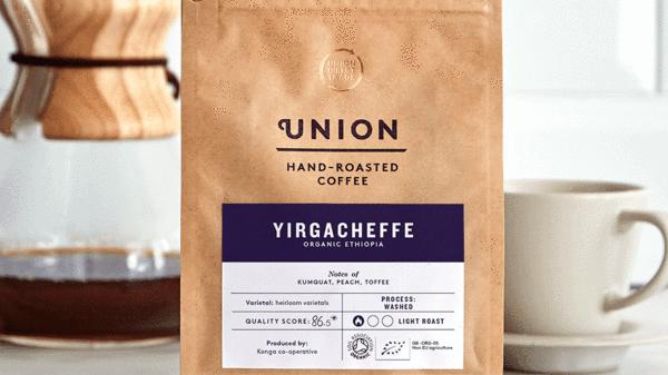 Union Coffee Ground Yirgacheffe 200g
