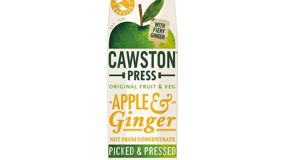 Cawston Press Apple & Ginger Juice 1lt