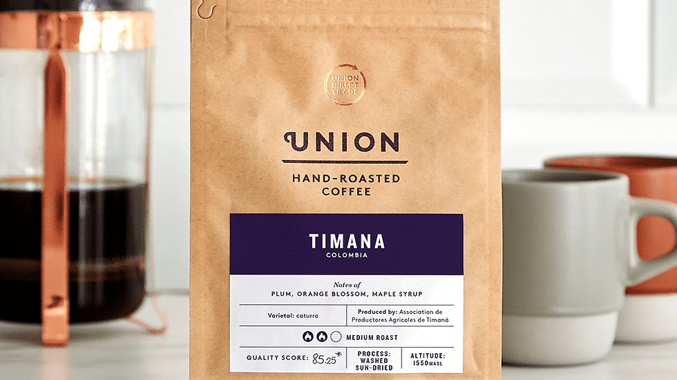 Union Coffee Ground Columbian Timana 200g