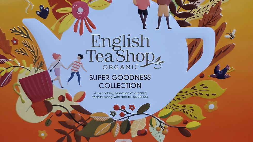 English Tea Shop Organic Super Goodness Tea Collection Gift Tin