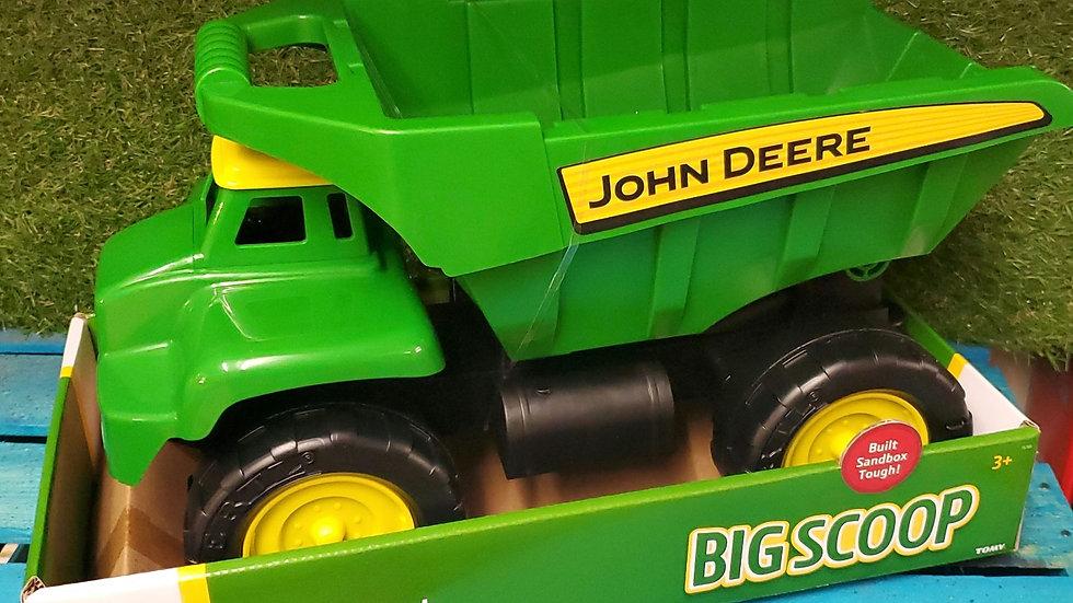 Tomy John Deere Big Scoop Dump Truck 3+