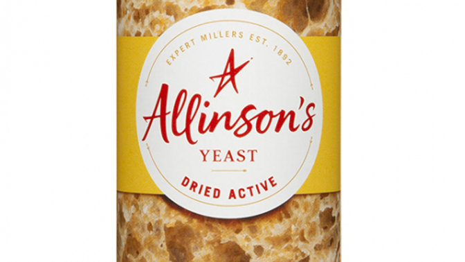 Allinson Dried Active Yeast Tin 125g