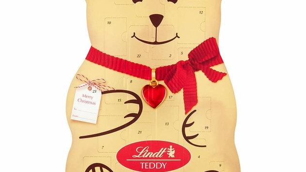 Lindt Teddy 3D Bear Advent Calendar 310g