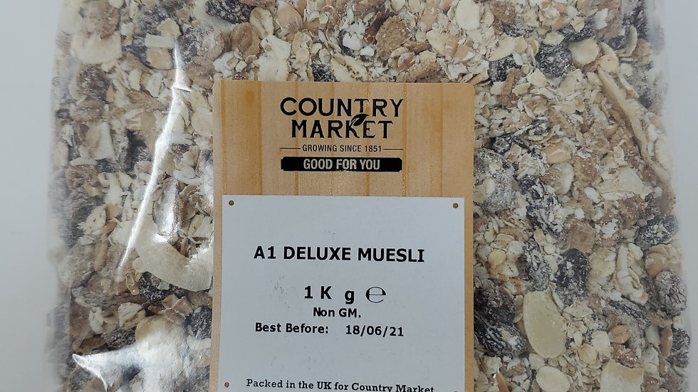 Country Market A1 Deluxe Muesli 1kg