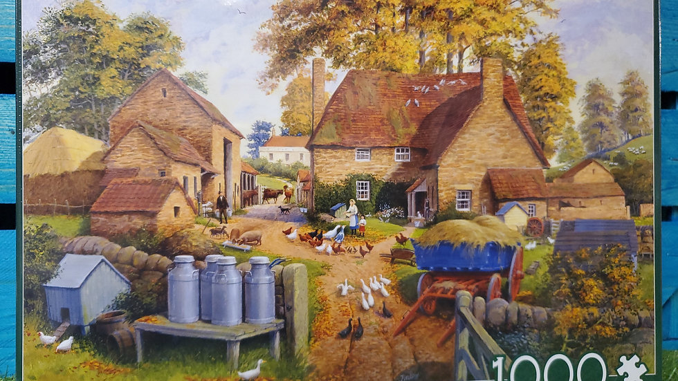 "Falcon de luxe Jigsaw Puzzle ""Autumn On The Farm"" 1000 piece"