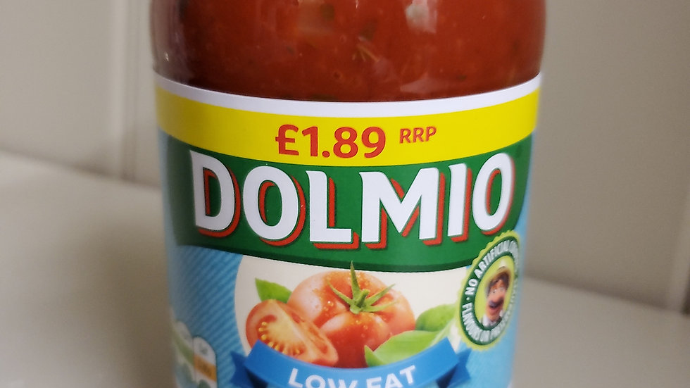 Dolmio Low Fat Sauce for Bolognese 500g PM£1.89