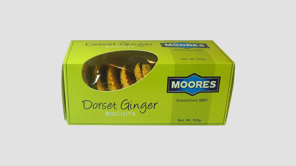 Moores Dorset Ginger Biscuits 150g