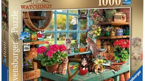 Ravensburger Jigsaw Puzzle 1000 Piece - Is He Watching?