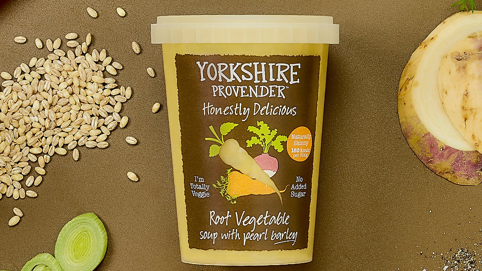 Yorkshire Provender Fresh Soup Root Vegetable with Pearl Barley 600g