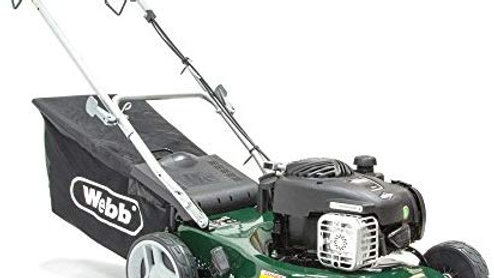 Webb 41cm Self Propelled Petrol Rotary Lawnmower WER16SP