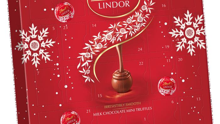 Lindt Lindor Mini Advent Calendar 109g
