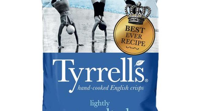 Tyrrells Potato Crisps Lightly Sea Salted 150g