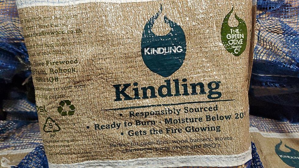 Green Olive Firewood Kindling Wood Net 3kg