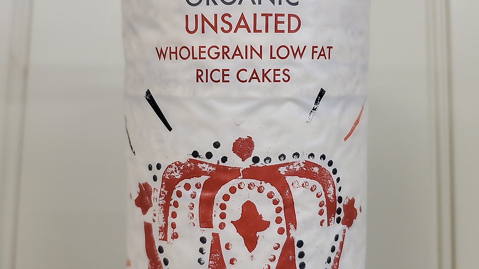 Kallo Organic Unsalted Wholegrain Low Fat Rice Cakes 130g