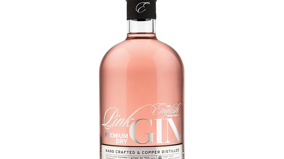 English Drinks Pink Gin 70cl
