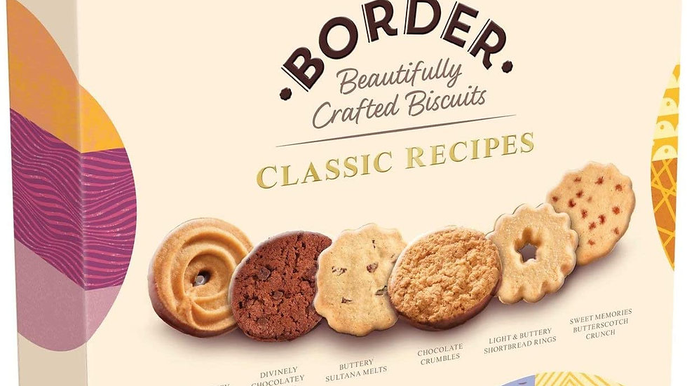 Border Biscuits Classic Recipe Selection Box 400g