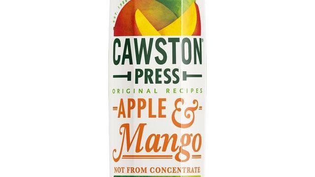 Cawston Press Apple & Mango Juice 1lt