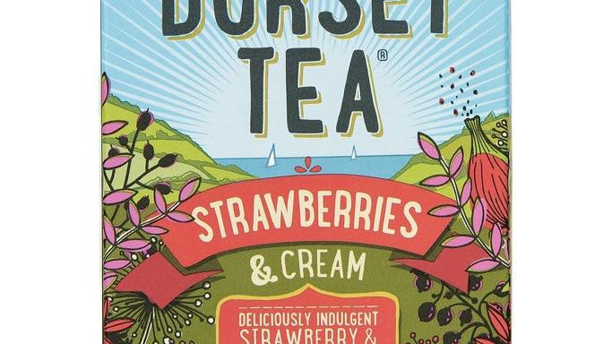 Dorset Tea Strawberries & Cream 20s