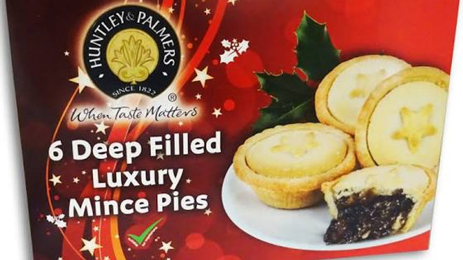 Huntley & Palmers Deep Filled Mince Pies 6 Pack
