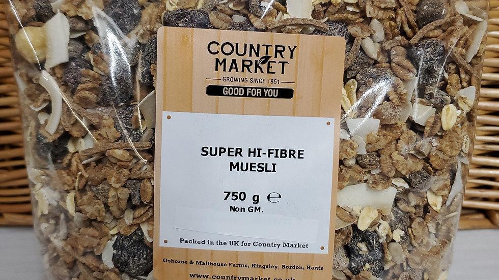 Country Market Super Hi-Fibre Muesli 750g