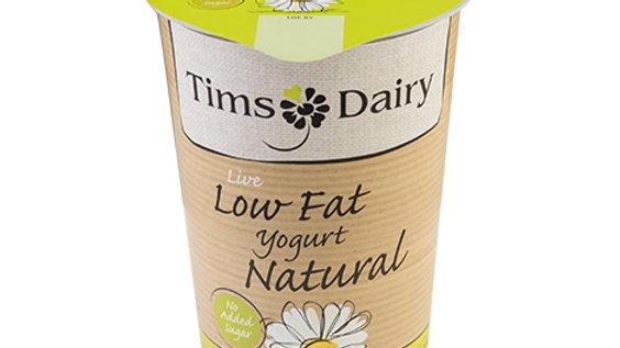Tims Dairy Live Low Fat Natural Yogurt 500g