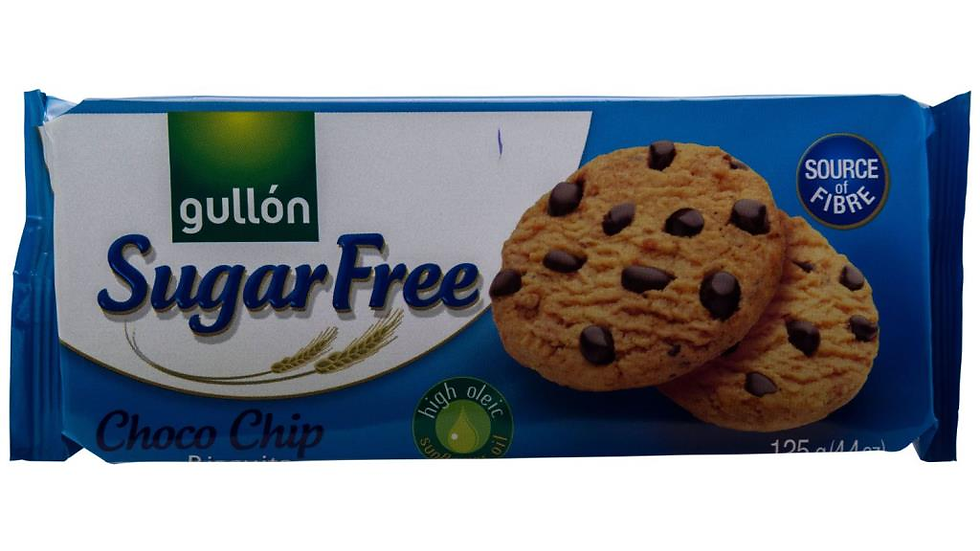 Gullon Sugar Free Chocolate Chip Cookies