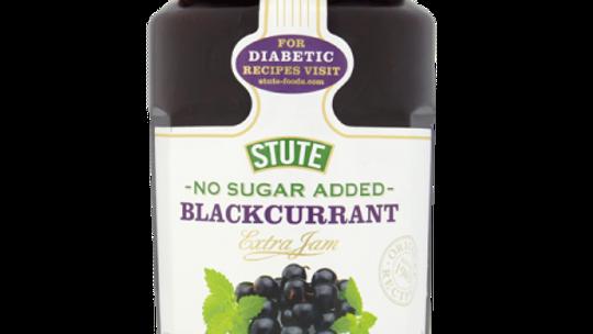 Stute No Added Sugar Blackcurrant Jam 430g