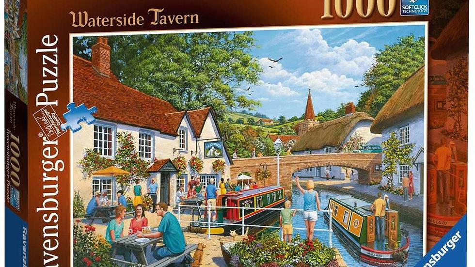 Ravensburger Jigsaw Puzzle 1000 Piece - Waterside Tavern