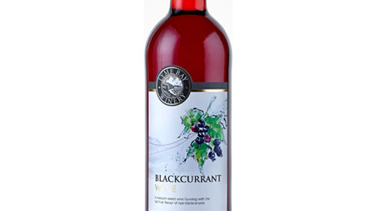 Lyme Bay Winery Blackcurrant Wine 11% vol 75cl