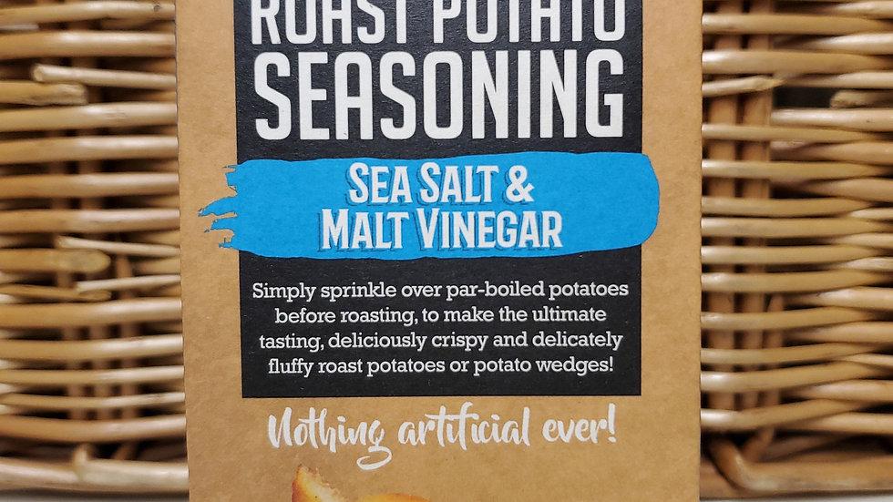 Pureety Roast Potato Seasoning Sea Salt & Malt Vinegar 40g