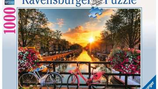 Ravensburger Jigsaw Puzzle 1000 Piece - Bicycles In Amsterdam
