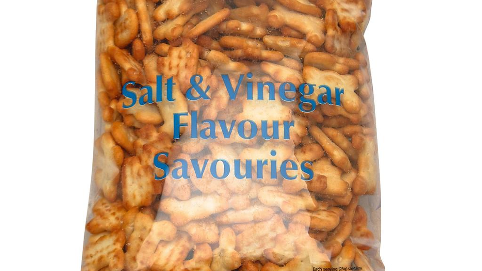 Crawfords Salt & Vinegar Savouries 250g