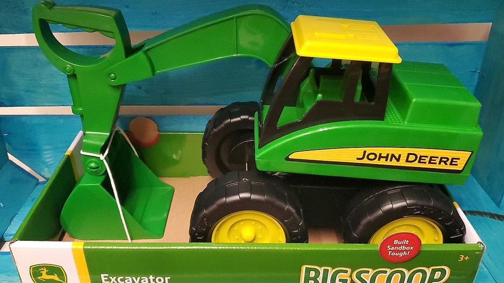 Tomy John Deere Big Scoop Excavator 3+