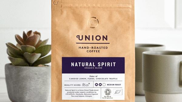 Union Coffee Ground Natural Spirit 200g